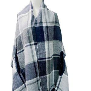 Elegant Cardigan Shawl Wrap Poncho (NEW)